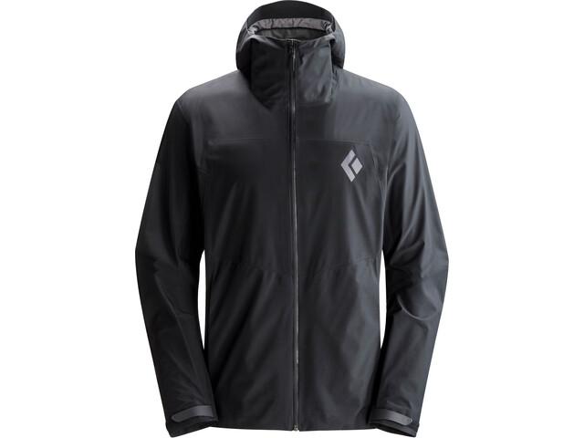 Black Diamond Liquid Point Shell Jacket Herre black
